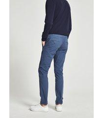 pantaloni chino in popeline