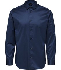 overhemd pen pelle blauw