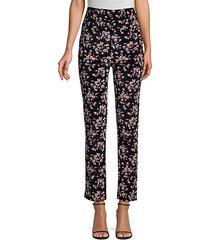 tilda velvet floral pants