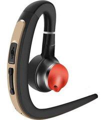 audífonos bluetooth estéreo inalámbricos deportivo con mic - oro