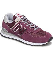 ml574 lage sneakers paars new balance