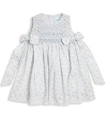 aggie floral silk sleeveless dress