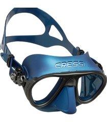 máscara de mergulho cressi calibro azul