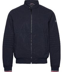 2 mb thermore suit bomber dun jack blauw tommy hilfiger tailored