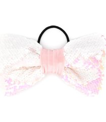 wauw capow by bangbang fantastic sparkle hair bow - pink