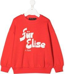 mini rodini für elise sweatshirt - red