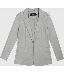 blazer gris vero moda