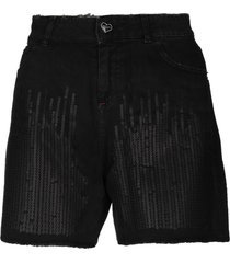 twin-set jeans denim shorts
