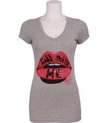 t-shirt m-m demanta - phard - t-shirts - grijs