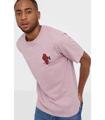 wood wood slater t-shirt t-shirts & linnen lilac