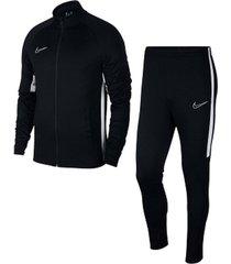 conjunto de hombre m nk dry acdmy trk suit k2 nike negro