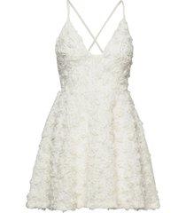 charlie dress korte jurk wit ida sjöstedt