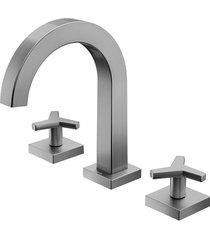 misturador para banheiro mesa city grafite escovado - 00878170 - docol - docol