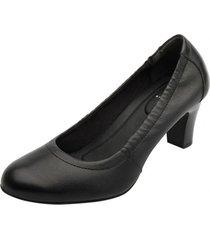 zapato mujer lauren negro flexi