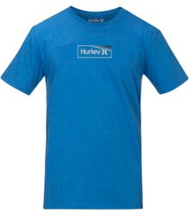 hurley men's one & only box gradient logo t-shirt