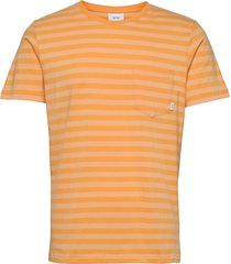 verkstad t-shirt t-shirts short-sleeved orange makia