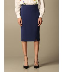 boutique moschino skirt boutique moschino pencil skirt in cady