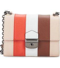 effrontee leather crossbody bag
