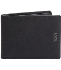 men's tumi nassau slim leather wallet - black