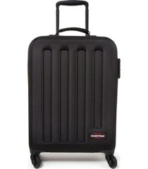 eastpak tranzshell s ek73f suitcase travel unisex adult and guys black