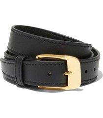 skinny shiny leather belt