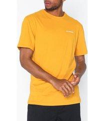 columbia north cascades short sleeve tee t-shirts & linnen yellow
