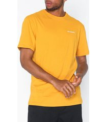 columbia north cascades short sleeve tee t-shirts & linnen yellow