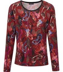 shirt met lange mouwen van basler multicolour