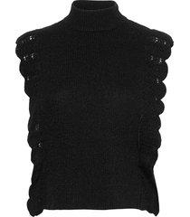 parisa esti knit vest vests knitted vests zwart bruuns bazaar
