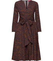 bandolo knälång klänning brun max&co.