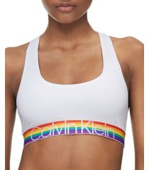 calvin klein women's modern cotton unlined bralette qf6010