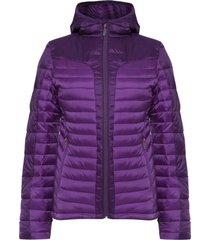 chaquetas mujer bewarm steam-pro hoody jacket morado claro lippi