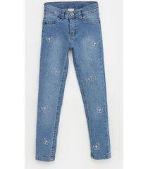 pantalón azul cheeky super skinny butterfly