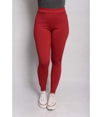 legging mix basica cor bordô