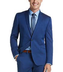 kenneth cole reaction techni-cole blue skinny fit suit