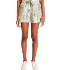 madden girl juniors' tie-dye shorts