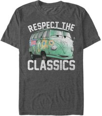 disney pixar men's cars fillmore respect the classics short sleeve t-shirt