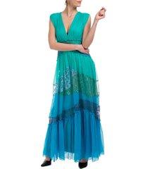 alberta ferretti double question mark maxi dresses