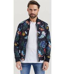 bomberjacka flower bomber jacket