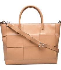 savona shopper trine bags top handle bags beige adax