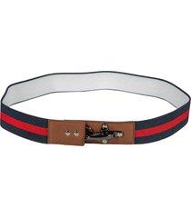 fay stripe strap belt