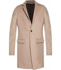 'bodell' high collar coat