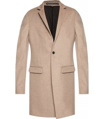 'bodell' high collar coat