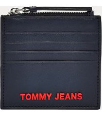 tommy hilfiger women's tommy zip card holder corporate -