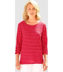 shirt paola rood::wit