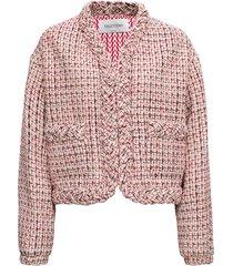 valentino wool tweel jacket