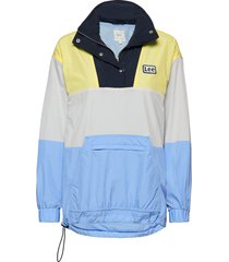 windbreaker outerwear jackets anoraks multi/patroon lee jeans