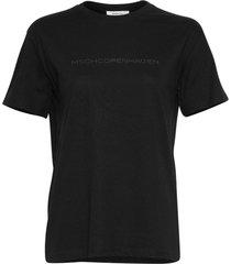 moss copenhagen t-shirt 15258 liv organic zwart
