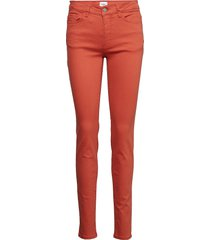 pants long skinny jeans orange saint tropez