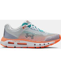 zapatilla gris under armour ua hovr mujer